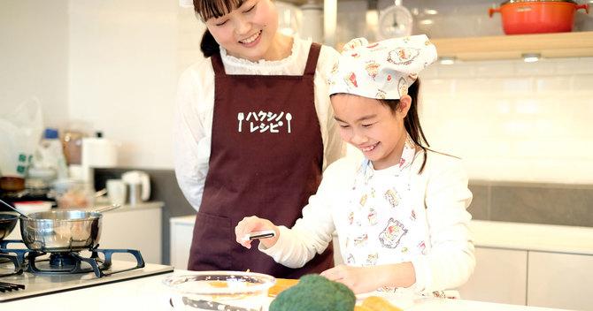 子どもの独創性を育む「キッチン学」
