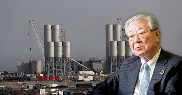 日立の中西会長は英原発計画の牽引役だったが、出資企業が少ないことに頭を悩ませる(写真は英国で先行する