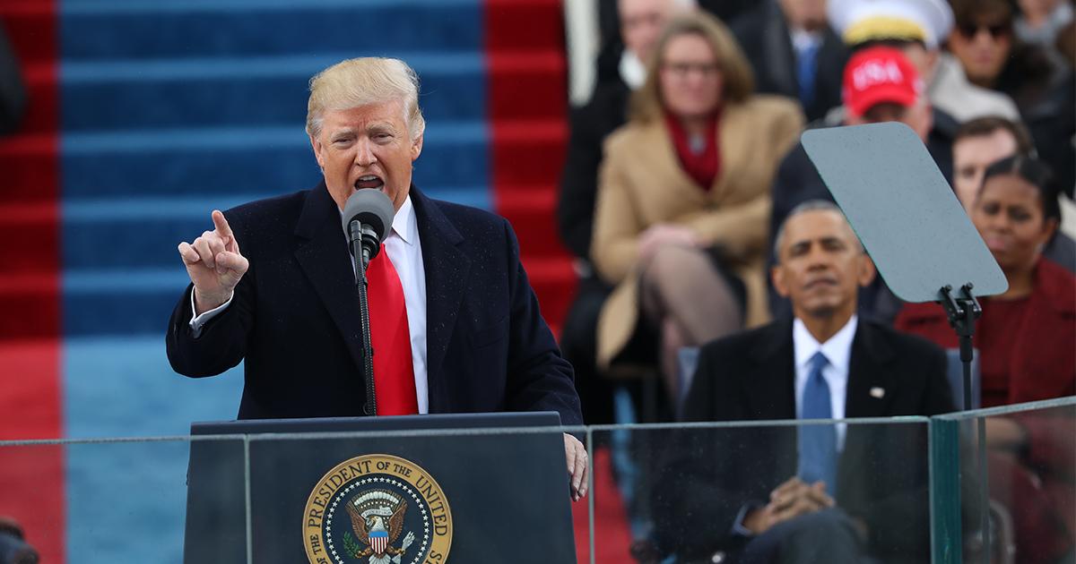 トランプ大統領・異色の就任演説から学ぶリーダーのスピーチ