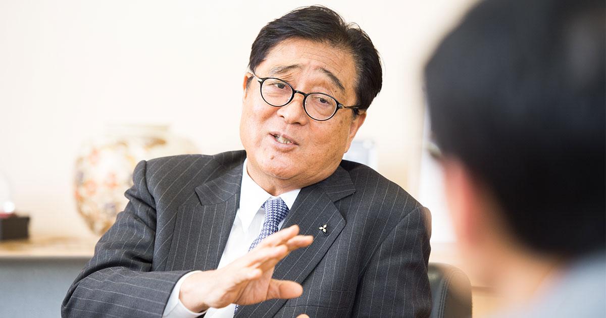 三菱自・益子修CEO「不祥事は社員や経営者をこんなに苦しめる」 - 三菱自動車CEO 益子 修