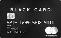 「ラグジュアリカード(ブラック)」のカードフェイス