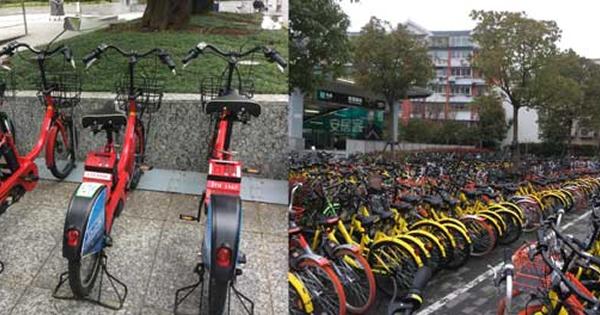 中国の都市部で自転車大流行!背景にスマホの普及