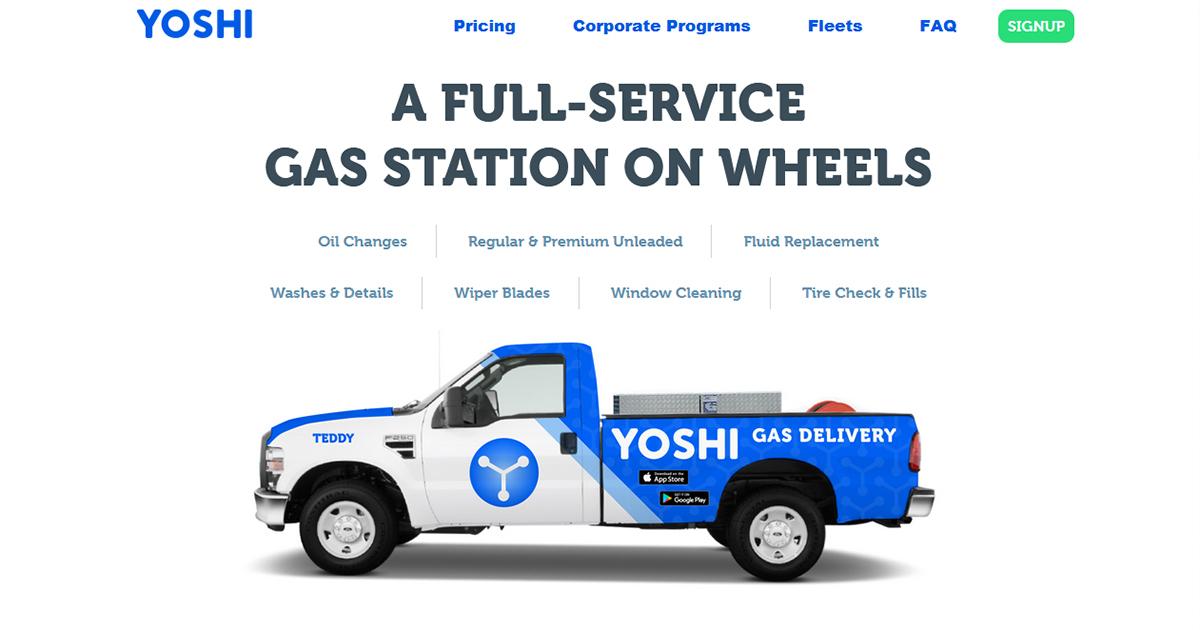 ガソリンの宅配まで登場、熱を帯びる米国デリバリーサービス競争
