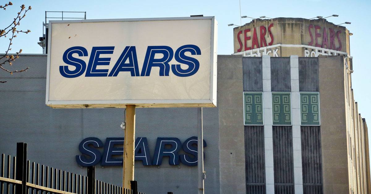 「全米で最も成功した」流通大手シアーズはなぜ経営破綻したのか