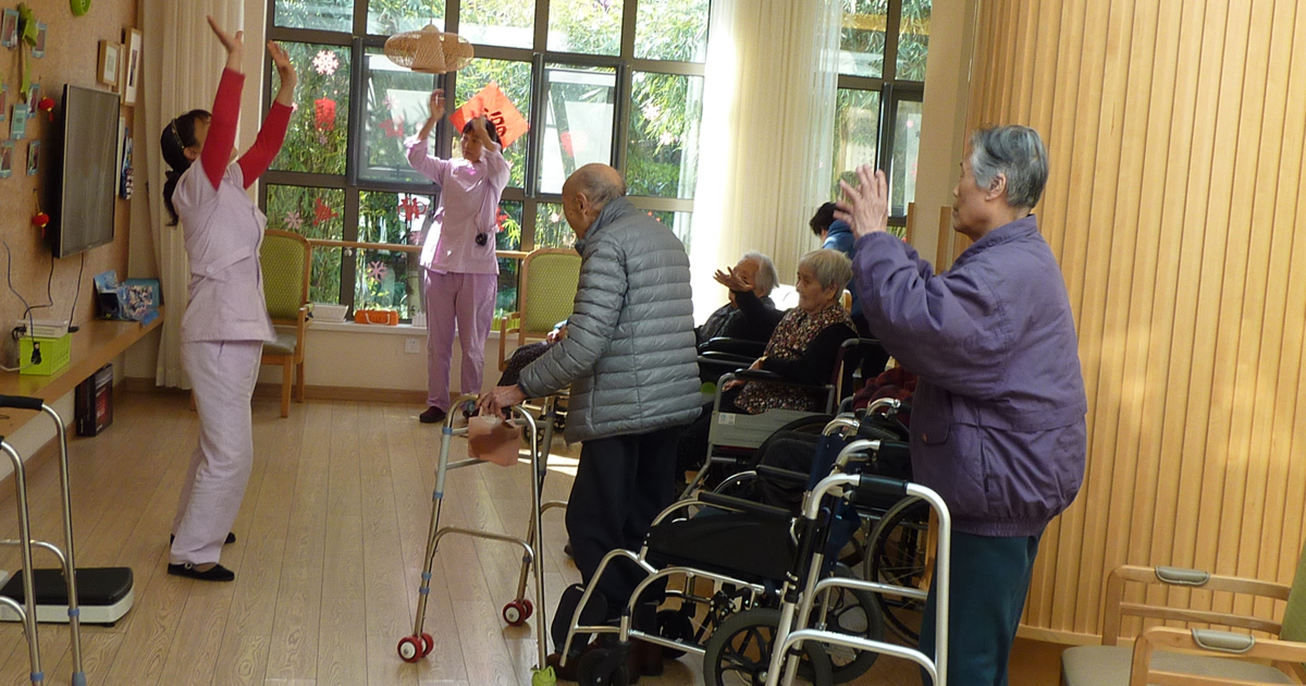 高齢化が猛スピードで進む中国の介護事情