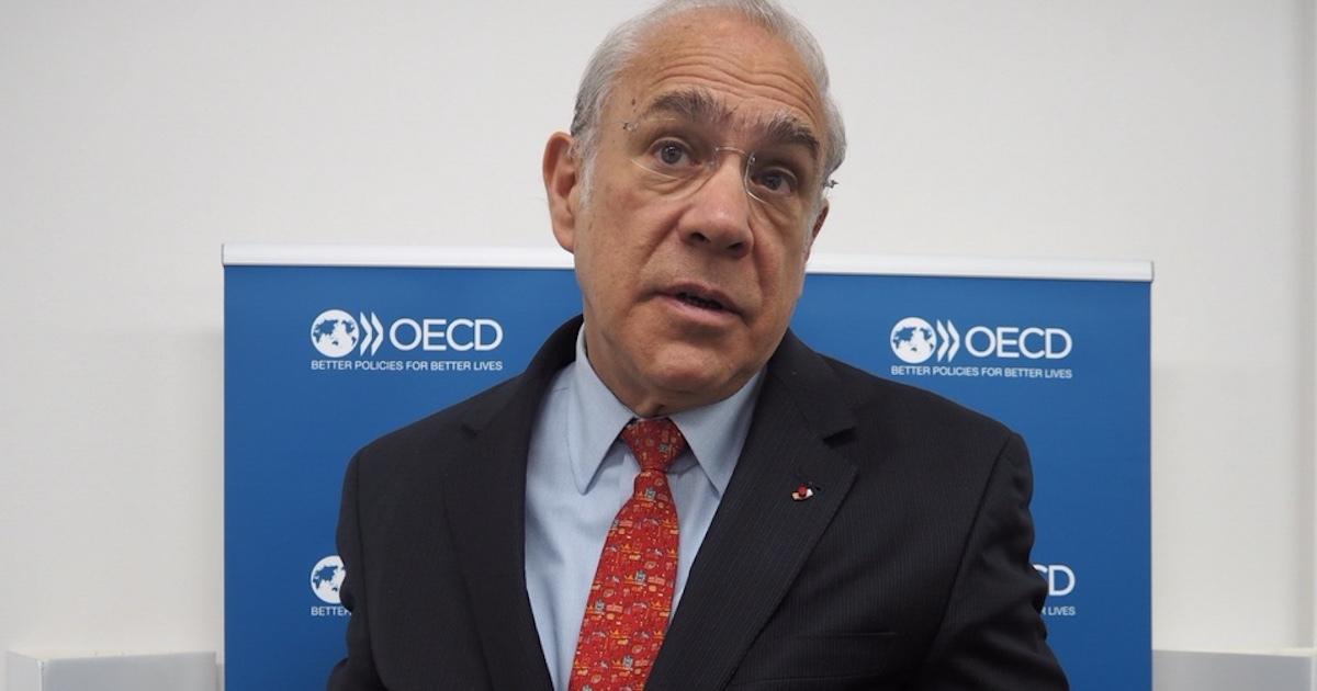OECD事務総長が語った日本の課題は「生産性」「財政」「起業」…