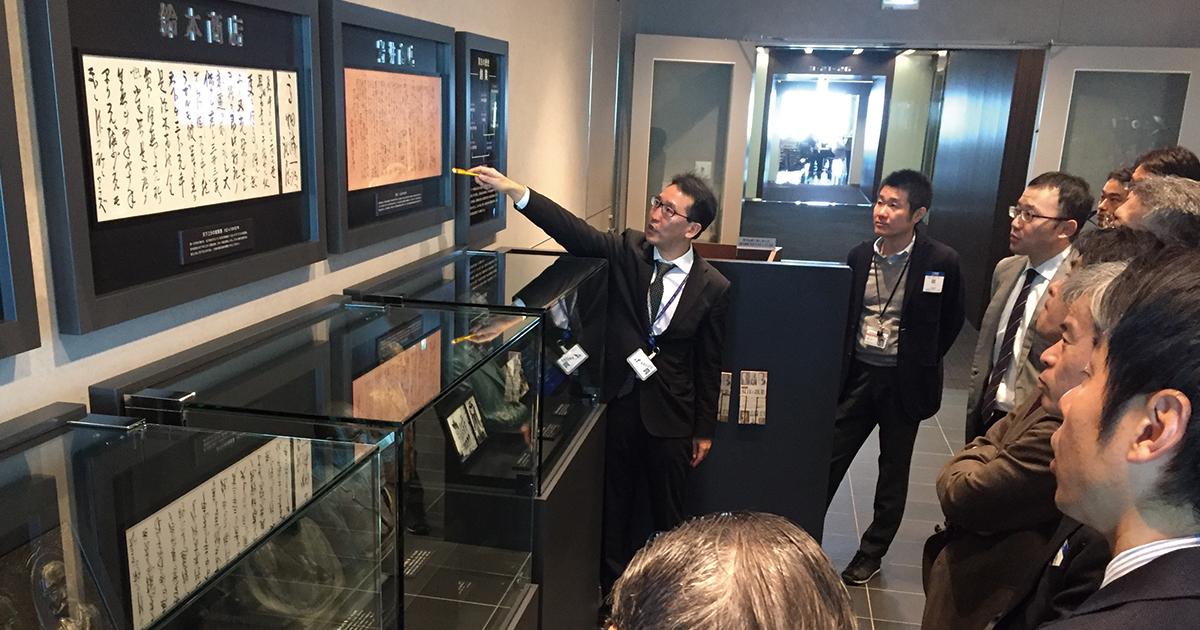 双日本社に社史展示コーナー、ルーツにこだわる理由は